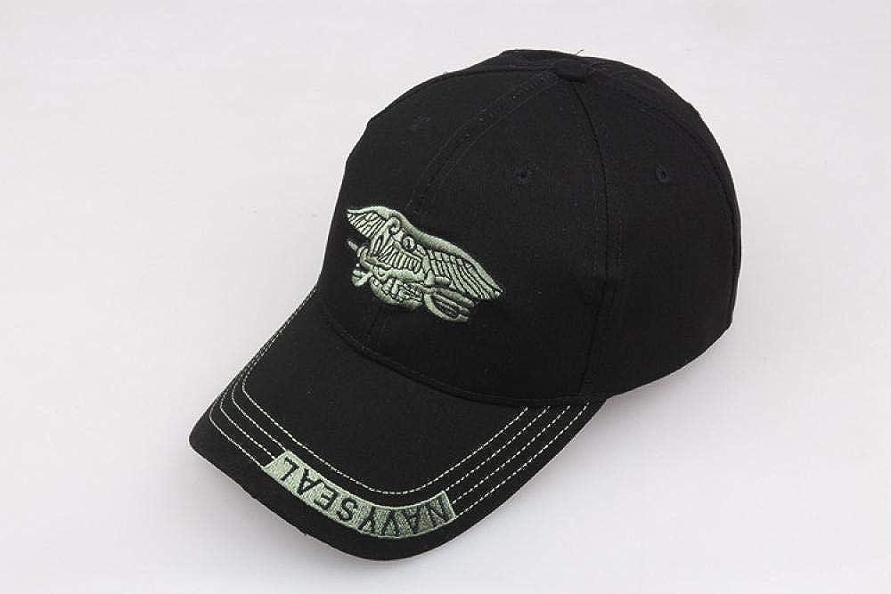 Baseball Cap Outdoor Men and Women Black Washed Cotton Sunshade Hat