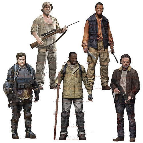The Walking Dead TV Series 8 Set of 5 Action Figures