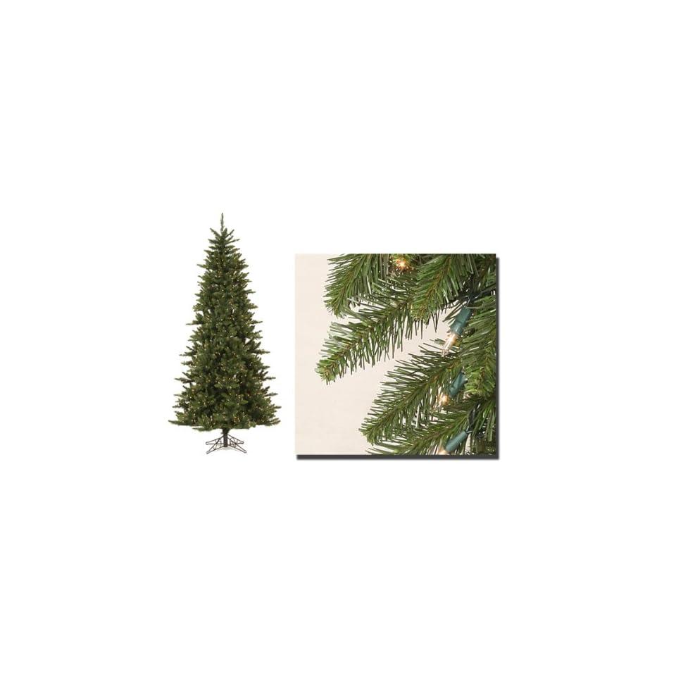 7.5 Pre Lit Camdon Fir Artificial Christmas Tree   Clear Dura Lit Lights