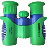 Binoculars for Kids 8x21 Shock Proof Set by Living Squad- Birdwatching - Real Educational Learning- Comfortable Eyepiece- Birthday Gift Guide- Compact- Best Resolution- Outdoor Camp- Toy (USA SELLER)