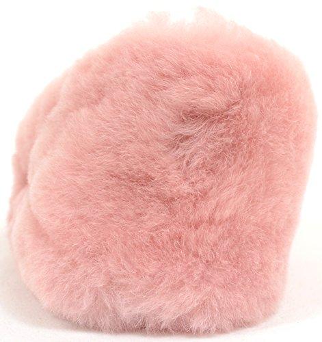 Snugrugs Womens Luxury Fluffy Slip On Sheepskin Slippers Pink