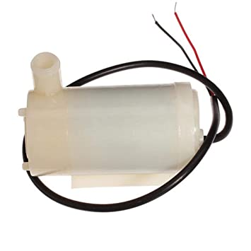 pittospwer Low Noise DC 3-5V Mini Brushless Motor MAX 120L//H Micro Bomba Sumergible para Agua