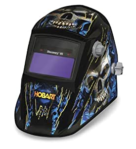 Hobart Discovery VS Variable Shade Welding Helmet - Mystic Skeleton Design, Model# 770766