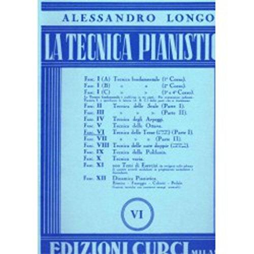 LONGO LA TECNICA PIANISTICA VOL.8