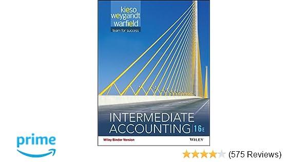 Amazon intermediate accounting binder ready version amazon intermediate accounting binder ready version 9781118742976 donald e kieso jerry j weygandt terry d warfield books fandeluxe Choice Image