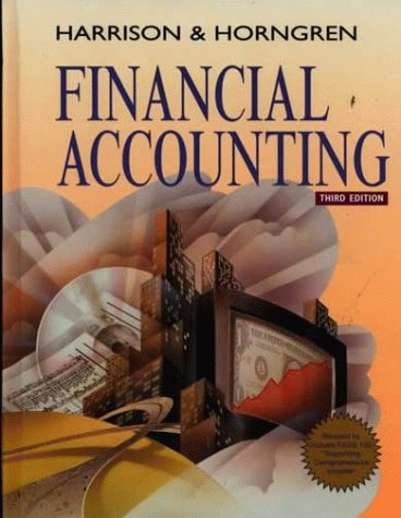 Financial Accounting (Charles T. Horngren Series in Accounting)
