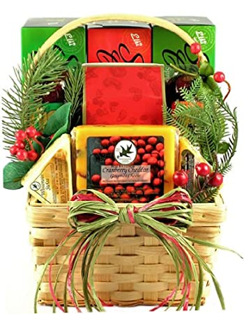 Amazon.com : Meat and Cheese Holiday Gift Basket : Gourmet Coffee ...