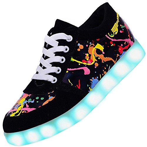 Led Light Up Shoes Fashion Breathable Sneaker for