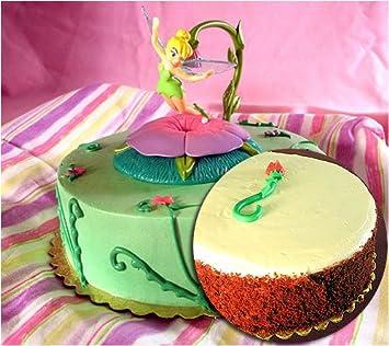 Disney Tinkerbell Personlized Birthday Red Velvet Cake Amazon