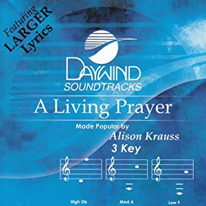 A Living Prayer (Daywind Track) [Accompaniment/Performance Track]