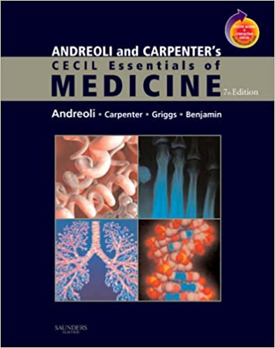 Andreoli and carpenters cecil essentials of medicine with student andreoli and carpenters cecil essentials of medicine with student consult online access 7e cecil medicine 9781416029335 medicine health science malvernweather Image collections