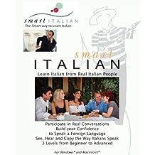 SmartItalian CDRom - Learn Italian from Real Italian People (Windows 7/Vista/XP/ Mac OSX)