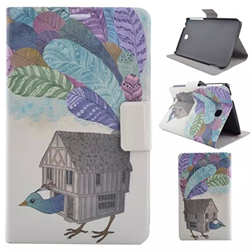 Galaxy Tab 3 7.0 T210 case,UUcovers Ultra Slim Lightweight Standing Cover with Auto Wake/Sleep for Samsung Galaxy Tab 3 7-Inch P3200/P3210/T211/T210(Dream House)