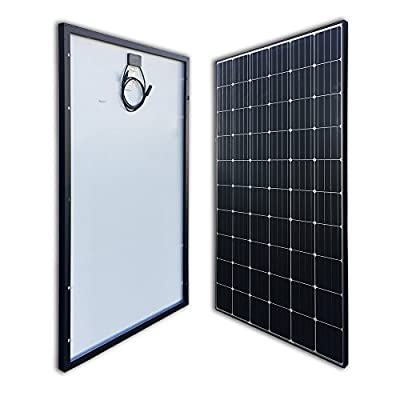 Renogy 300 Watt 24 Volt Monocrystalline Solar Panel for Off-Grid On-Grid Large Solar System, Residential Commercial House Cabin Sheds Rooftop, Multi-Panel Solar Arrays