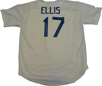 AJ Ellis Autographed Los Angeles Dodgers White Jersey W/PROOF ...