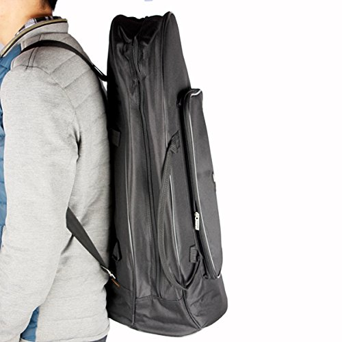 MAOFU Useful Tools Euphonium Gig Bag Euphonium Oxford Cloth Protection Bag w/Strap Black by MAOFU (Image #2)