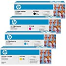 Hp Full Set includes Laser Toner Cartridge for Colour Laserjet CP2025/ CP2025DN/ CP2025N Printers - Cyan/Magenta/ Yellow/Black