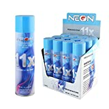 neon gas - 12 Cans of Neon 11x Ultra Refined Butane Fuel Lighter Refill Gas