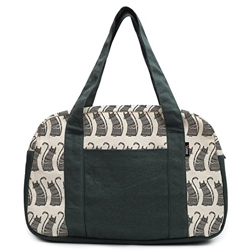womens-ornamental-cats-beige-printed-canvas-duffel-travel-bags-was-19