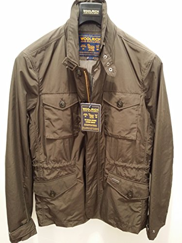 Summer Travel Marrone Brown Jacket Woolrich Wocps2294 Field xgPBOqnI5w