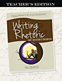 Writing & Rhetoric Book 5: Refutation & Confirmation - Teacher