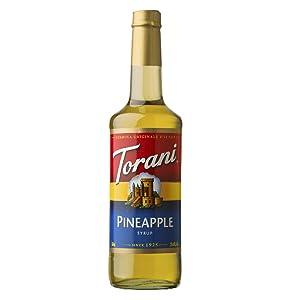 Torani Pineapple Syrup 750mL