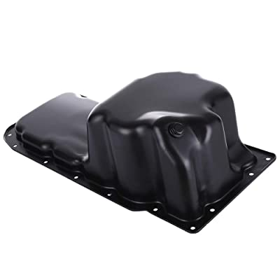 FEIPARTS Engine Oil Pan for 99-04 Dodge Dodge Ram 1500 Truck Jeep Grand Cherokee Pickup Truck V8 4.7L OE Solutions 264-243 Oil Drain Pan: Automotive