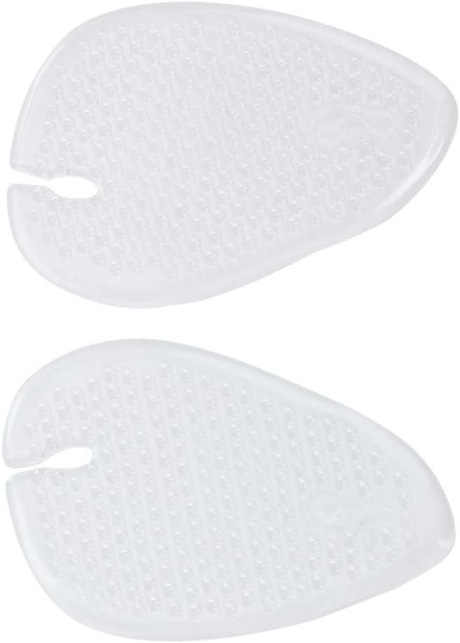 Lomsarsh Gel Insoles for Women 1 pairs Forefoot Pad Thick Non-slip Silicone Pad Feet Foot Pain Relief Pads Metatarsal Ball Of Foot Cushions
