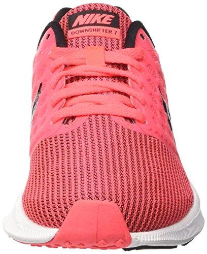 Nike Damen Downshifter 7 Laufschuhe, 38,5 Eu Pink (rosa / (hot Punch / Nero / Bianco) 000)