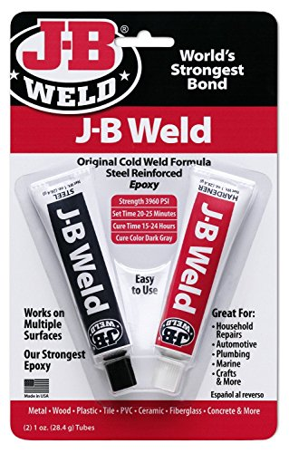 J-B Weld 8265-S (1oz Tubes) Epoxy (Adhesive 1 Oz Tube)