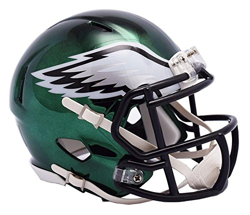 (Riddell PHILADELPHIA EAGLES NFL Revolution SPEED Mini Football Helmet)