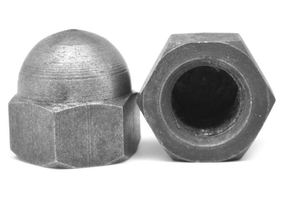 5/16-18 Coarse Thread Acorn Nut 2 Piece Low Carbon Steel Plain Finish Pk 1500
