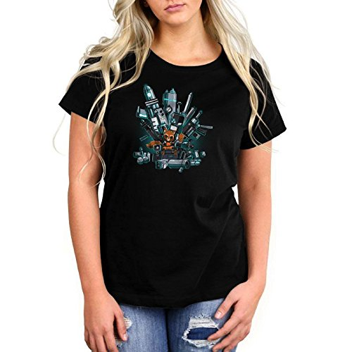 Marvel x Tee Turtle King Of The Galaxy Rocket Raccoon Womens Tee Shirt Size: Large