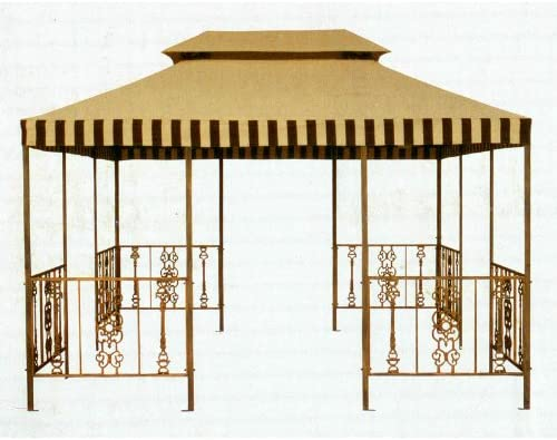 PH Victorian Gazebo Replacement Canopy – RipLock 350