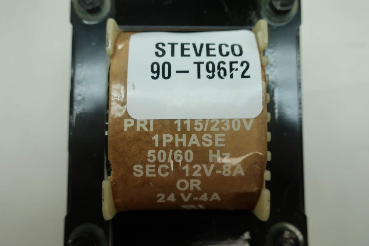 STEVECO 90-T96F2 1PH Voltage Transformer 115//230V-AC 12//24V-AC