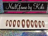 Just Rose Gold Press on Nails Glue on Nails Fake Nails False Nails Custom Nails Hand Designed Nails Coffin Nails Handmade