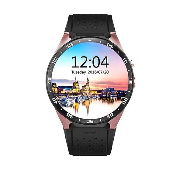 Reloj de Moda de la Mujer Reloj Deportivo con Monitor de Ritmo cardíaco, rastreador de Actividad, Monitor de sueño, podómetro de Pulsera Inteligente ...