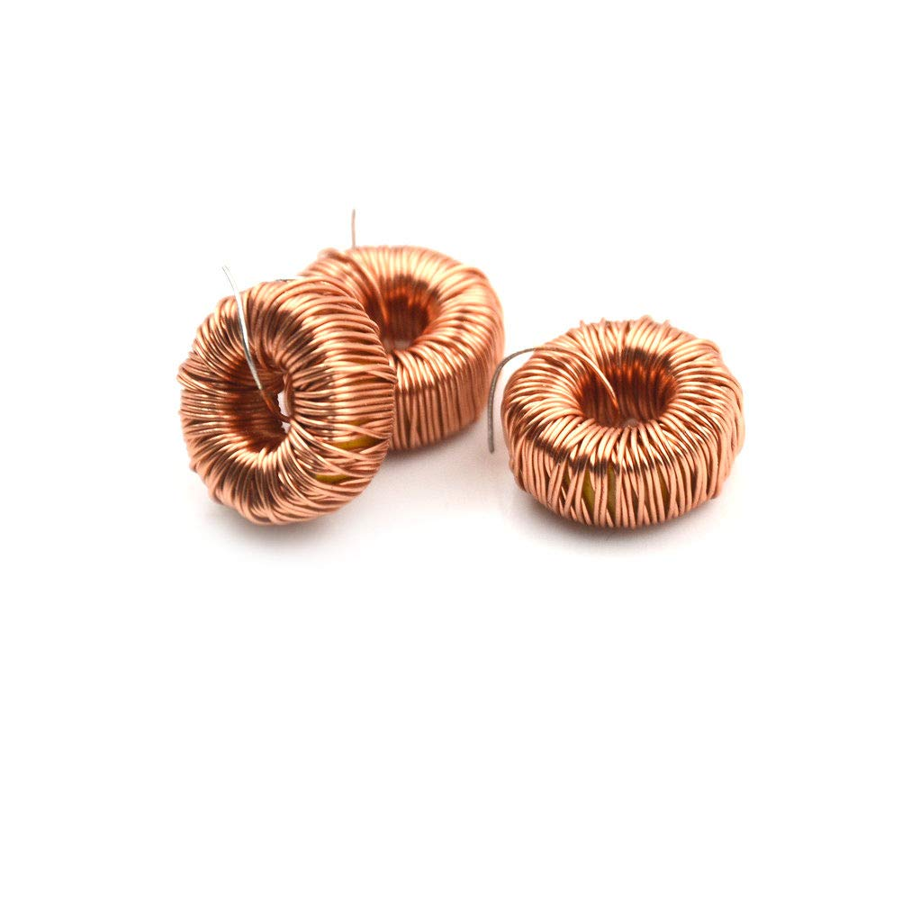 10Pcs Magnetic Inductance Wire Wound Coil 470UH 3A Toroidal Inductor for LM2596 Toroid Core Inductor