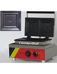 CGOLDENWALL NP 535 2pcs Commercial Waffle Maker Electric Waffle Machine No Stick Belgian Waffle Baker Sandwich Maker Machine Panini Maker 110V 220V CE Certification