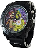 Five Nights at Freddy's Metal Case Light Up Watch w/Metal Accents