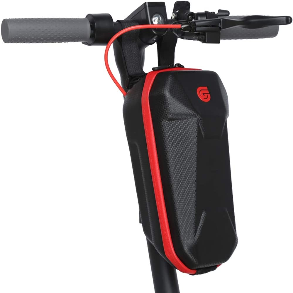 Electric Scooter Front Bag Hard Shell Waterproof Storage Bag Bike Handlebar Bag