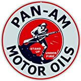 Pan-Am Motor Oil Service Station Gas Reproduction Sign