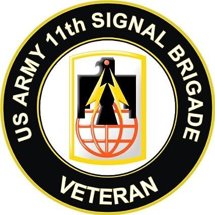Amazoncom Military Vet Shop Magnet Us Army 11th Signal Brigade - Us-military-vet