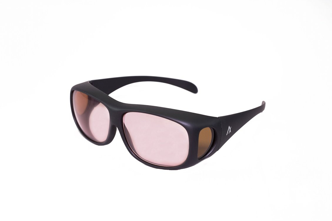 Axon Optics COVER-RX Migraine Glasses for Migraine Relief and Light Sensitivity Relief