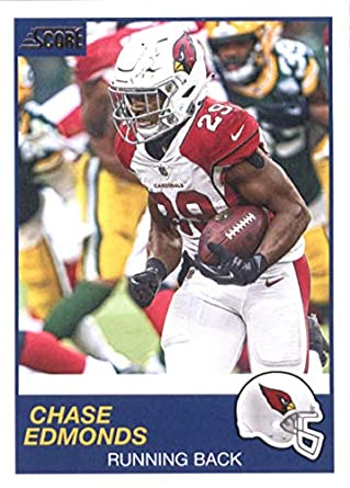 6368e203 Amazon.com: 2019 Score Football #292 Chase Edmonds Arizona Cardinals ...