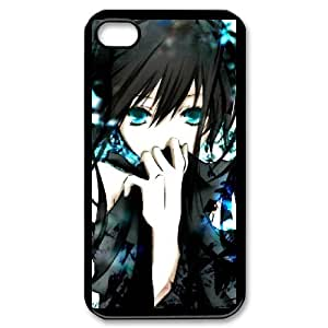 DIY Printed Personlised Black Rock Shooter cover case For iPhone 4,4S W5970216