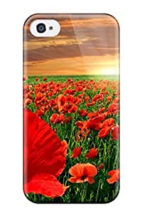 Perfect Fit TnaqRZZ3340ZJMyf Fields Of Red Case For Iphone - 4/4s