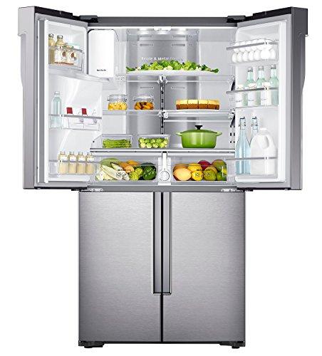 Samsung RF56J9041SREG Side-by-Side / A++ / 369 kWhJahr / 361 L Kühlteil /  203 L Gefrierteil / Drei getrennte Kühlkreisläufen / edelstahl