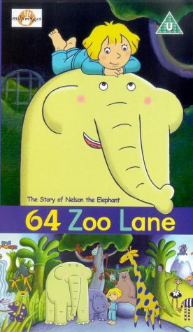 64 Zoo Lane Thestory Of Nelson The Elephant Vhs Lucy