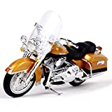 1999 Highway Road King Motorcycle Model 1:18, Static Simulation Alloy Die-Casting Car, Pull Back Toy Model Car, Home Decoration, Collectibles, Gifts